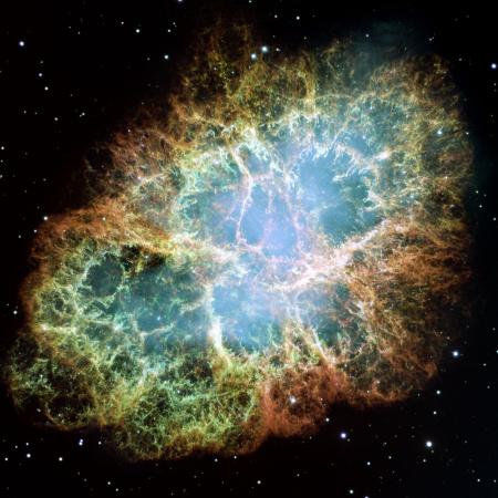 crab-nebula - after supernova explosion