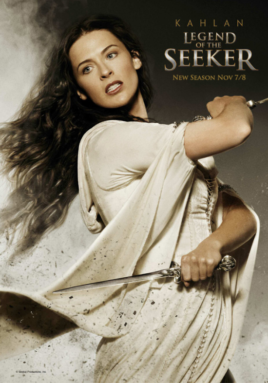 Bridget Regan - Kahlan Amnell poster Legend of The Seeker babes