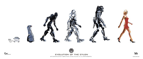 Cylon Evolution - from toaster to Model Six