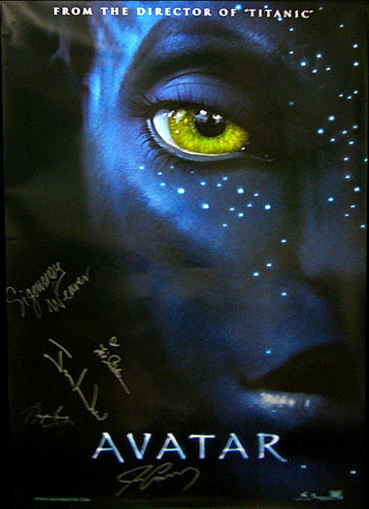 Avatar movie posters sci fi bloggerssci fi bloggers - Avatar poster ...
