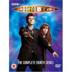 Doctor Who Series 4 DVD - UK