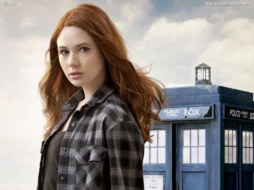 Karen Gillan - Amy Pond - Doctor Who Series 5