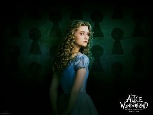 Alice in Wonderland wallpaper - Mia Wasikowska 1280x1024