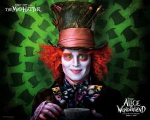 Alice in Wonderland wallpaper - Johny Depp 1280x1024
