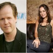 Joss Whedon and Eliza-Dushku