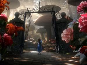Alice in Wonderland 2010 wallpaper 1600x1200