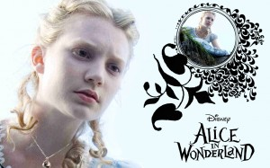 Alice in Wonderland 2010 wallpaper 1280x800