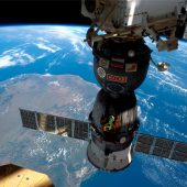 Soyuz Journey to Earth from the ISS