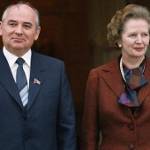 Thatcher and Gorbachev